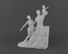 African Renaissance 3D Model