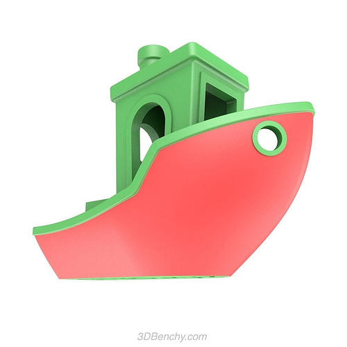 3dbenchy - the jolly 3d printing torture-test 3d model stl 4