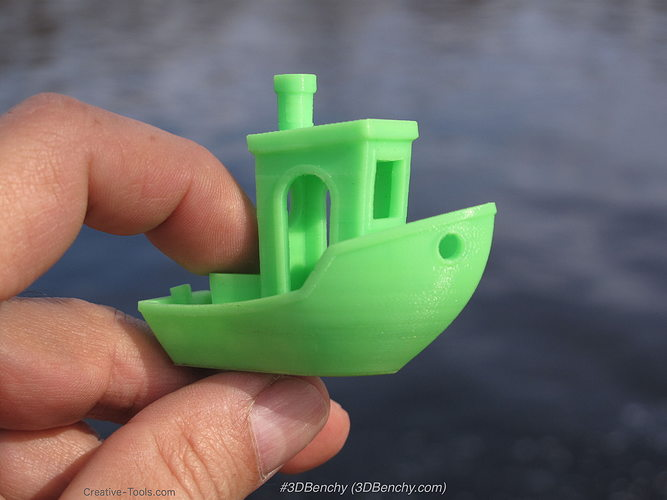 3dbenchy - the jolly 3d printing torture-test 3d model stl 1