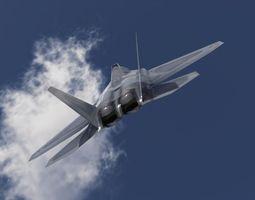 FA22 Raptor 3D model