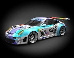 3D Porsche 911 GT3-RSR 2007