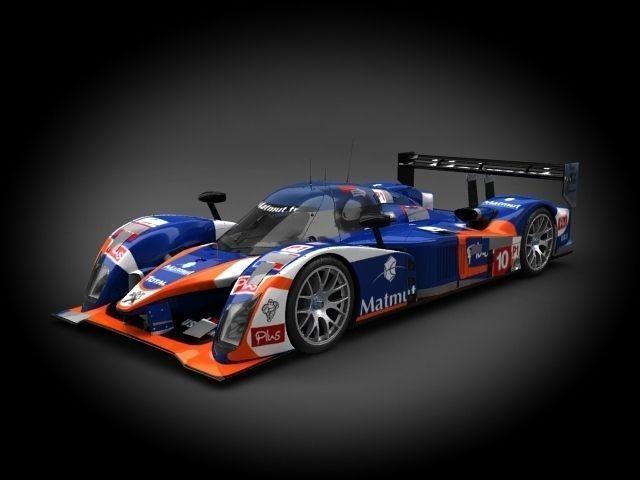 Peugeot Sport 908 2011 3D Model