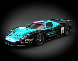 3d maserati vitaphone racing team mc12 2006