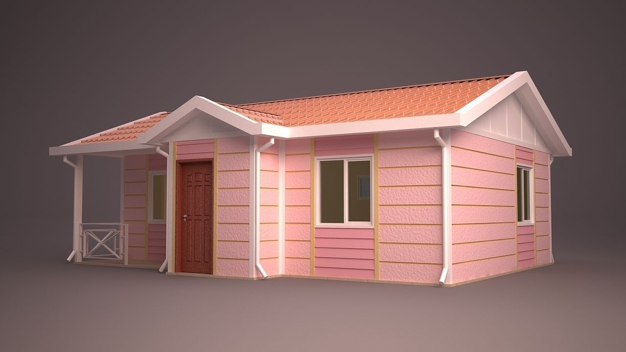 Home 13 3d model max obj 3ds fbx ma mb dwg for Home 3d model