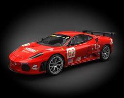 Ferrari F430GT LeMans 2006 3D Model