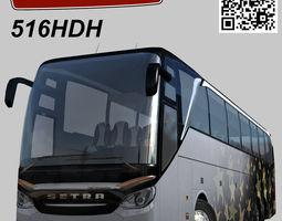 3D asset Setra S 516 HDH