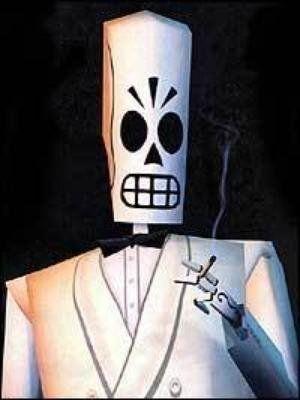 Manny Calavera Of Grim Fandango By Tblatt Free 3d