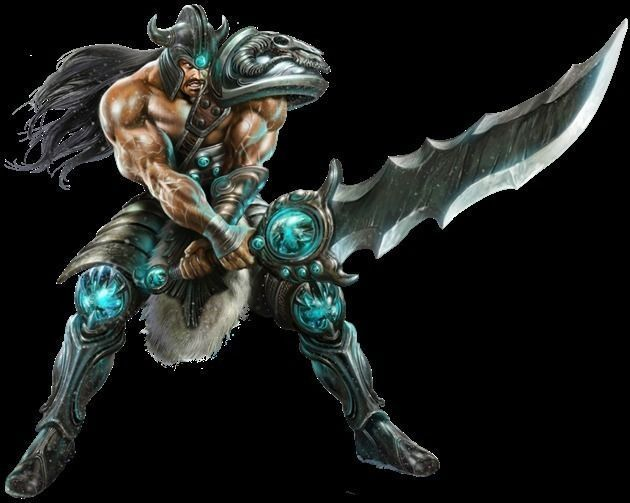 tryndamere 3d