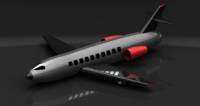 flight 3d model ige igs iges 1