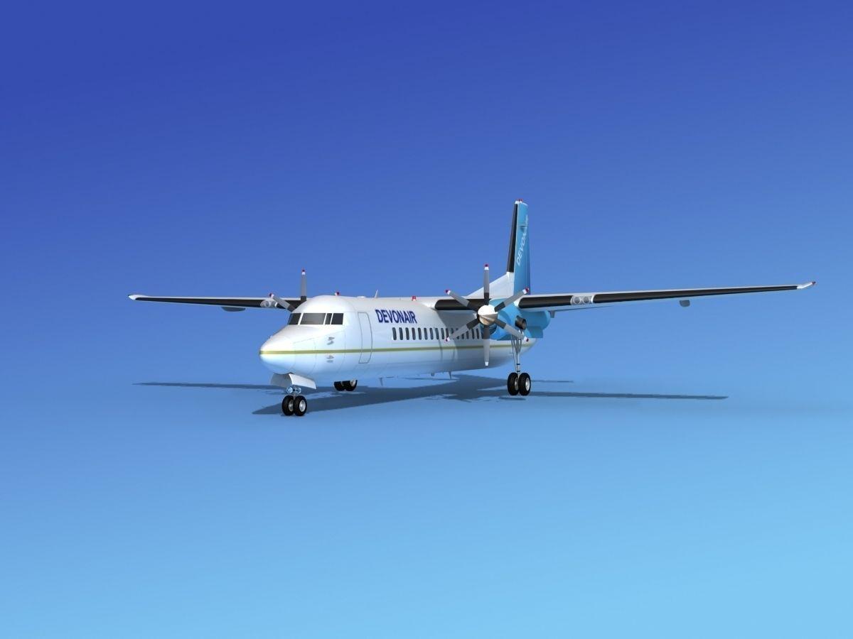 Fokker 50 Devonair
