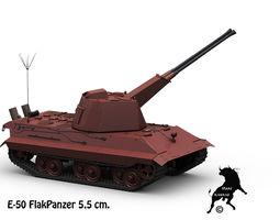 e-50 flakpanzer 3d model max obj fbx