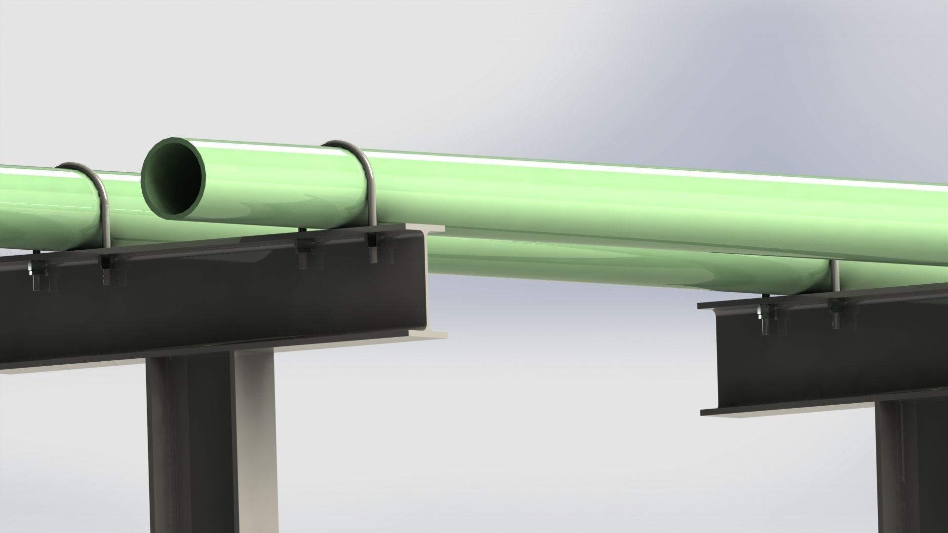 Pipe Support Free 3d Model