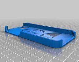 3d print model obama stencil case iphone 5