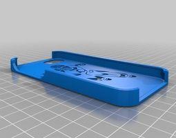 3d print model iron man iphone 5 case