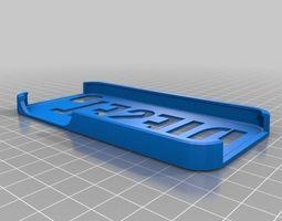 diesel iphone 5 case 3d print model