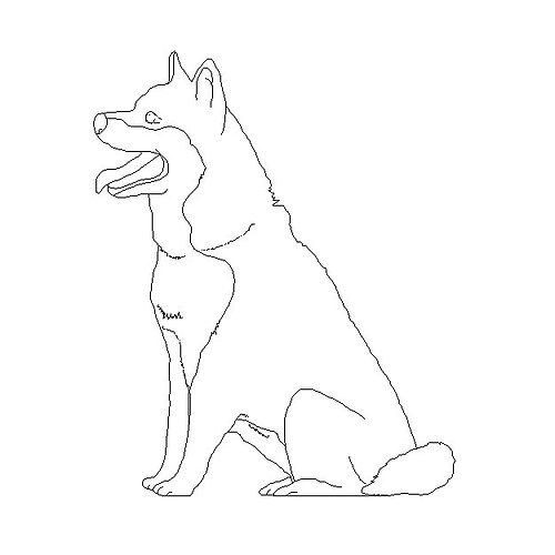 Dog 1 2D 3D model | CGTrader
