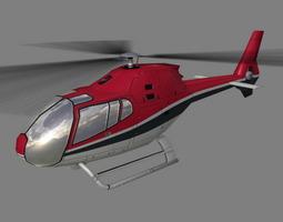 Colibri V4 Helicopter 3D Model