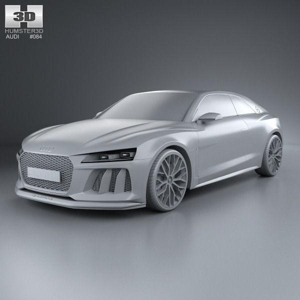 Audi Sport Quattro Laserlight D CGTrader - Audi sports car list