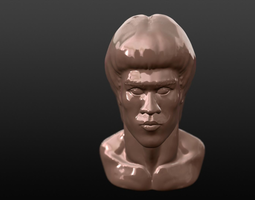 BRUCE LEE BUST 3D Model