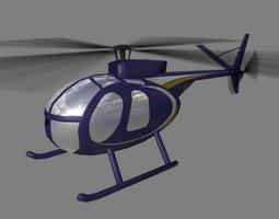 Hughes 500 V5 Helicopter 3D model