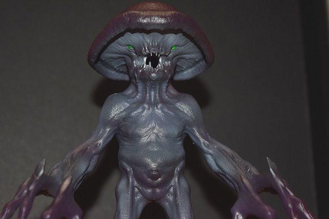 myconid - fantasy miniature 3d model max stl tga 1