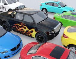 cars pack realtime 3d asset