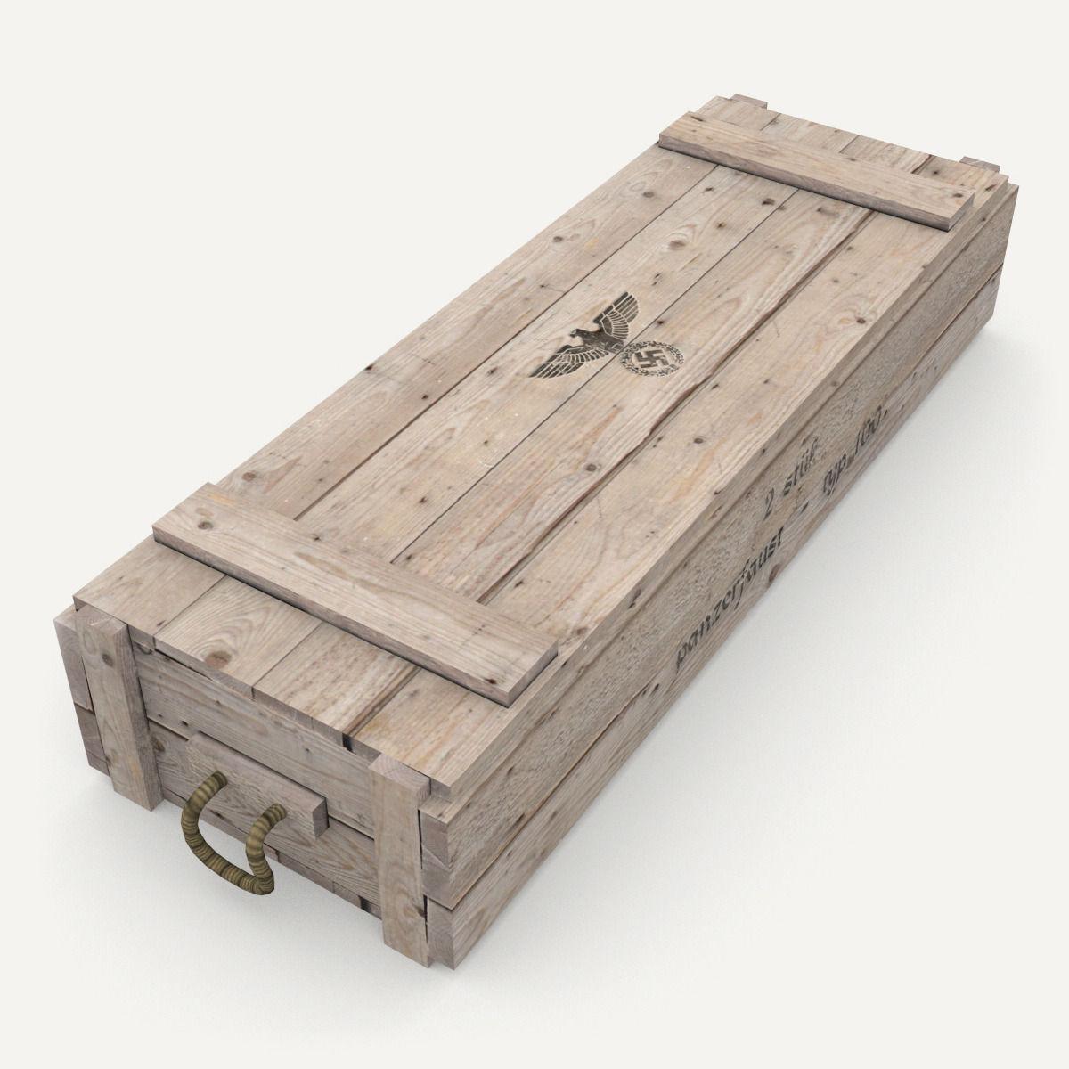 German army crate