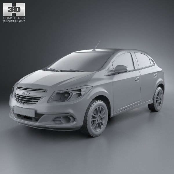 Chevrolet Onix  D Model Max Obj Mtl Ds Fbx Cd Lwo Lw Lws