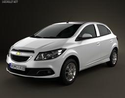 3D Chevrolet Onix 2013