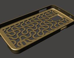 Dragon Curve Samsung Galaxy S5 Case 3D printable model