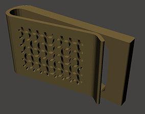 Dragon Curve Money Clip 3D print model