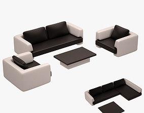 3D model Sofa Set 004