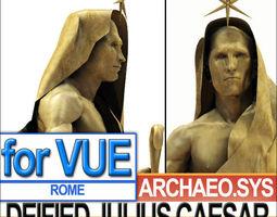 Statue of Deified Julius Caesar 3D