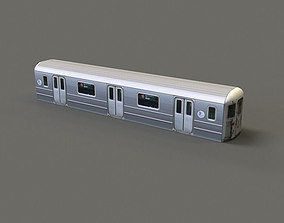 3D model Subway Car - R62