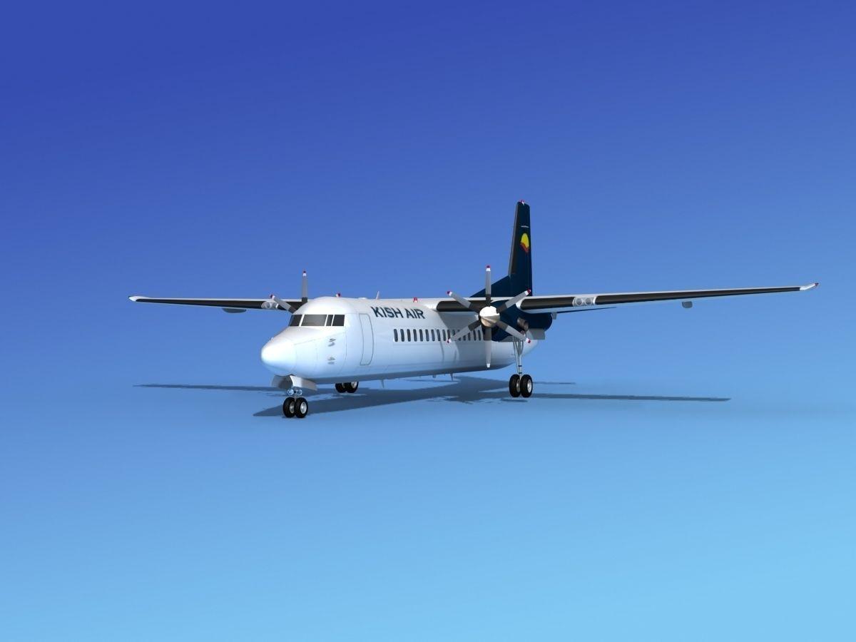Fokker 50 Kish Air