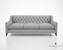 Stuart Scott The Formalis Sofa 3D model