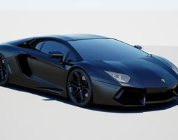 nov-ate 3D model Lamborghini Aventador