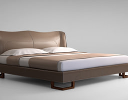 giorgetti corium bed 3d