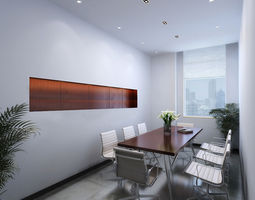 3D Small meeting room