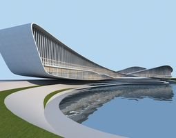 3d streamlined architecture