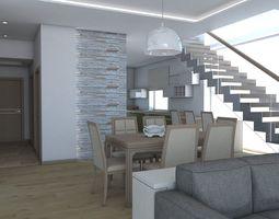 living room 10 3d