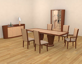 3D model Dining Room 2 Set