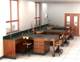 3D Science Laboratory 01