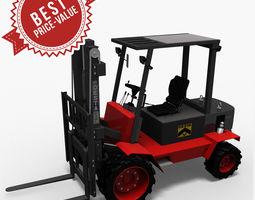 hight lift truck desta 3d model max obj