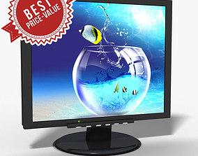 Monitor LCD 3D model