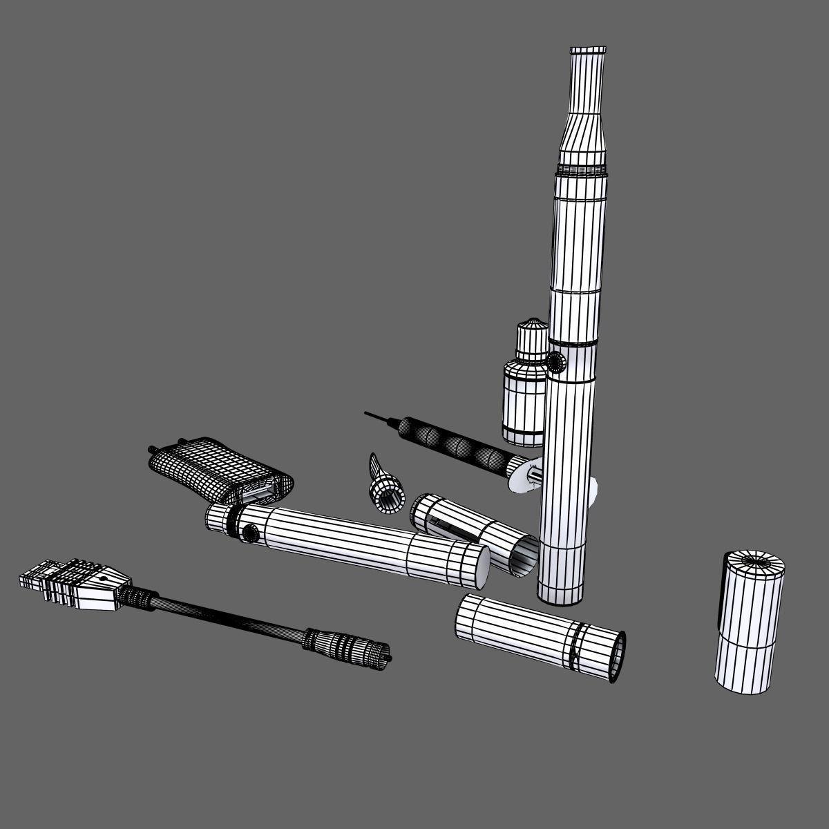 Electronic Cigarettes 3D Model MAX OBJ | CGTrader.com