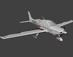 Cirrus SR22 3D model