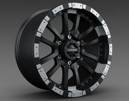 Advanti Racing - RC Roccia Wheel Rim 3D Model