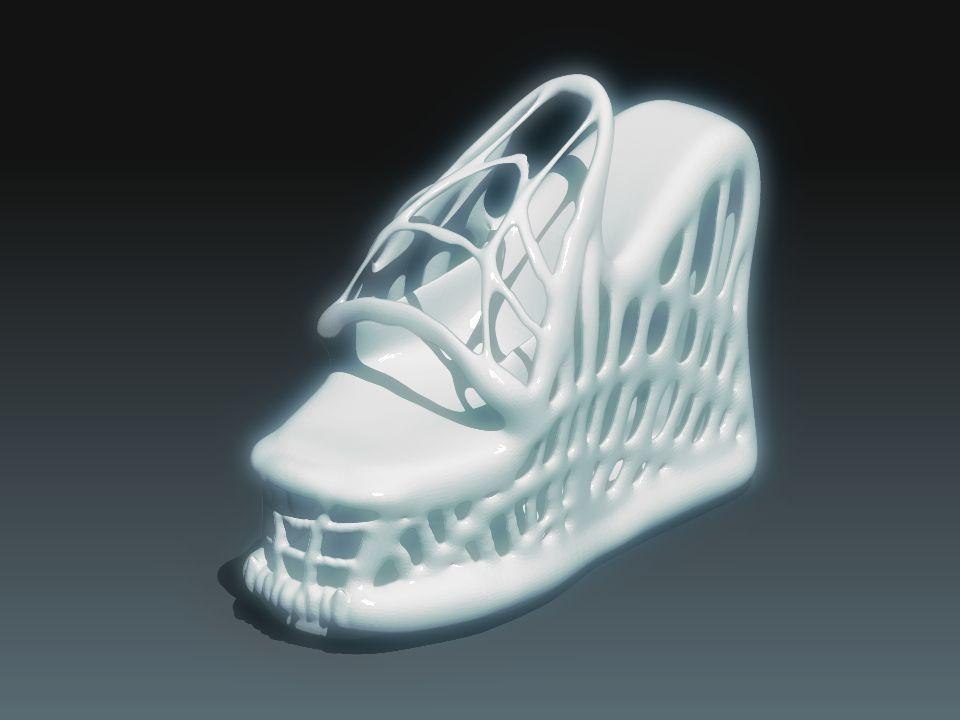 Alien Shoes 3D Model 3D printable STL - CGTrader.com