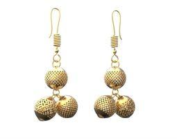 earring balls 3d printable model